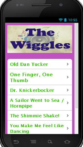 The Wiggles Songs - screenshot