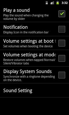 Volume control free - screenshot