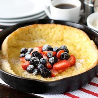 German Pancake with Berries