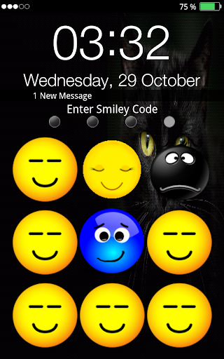 笑脸屏幕解锁
