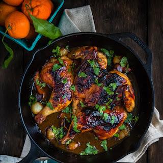 Honey Mandarin Roasted Chicken