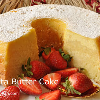 Ricotta Butter Cake.