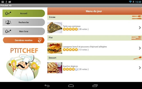 recipes and cooking on tablet - Android Apps on Google Play