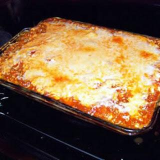 Yummy Lasagna.