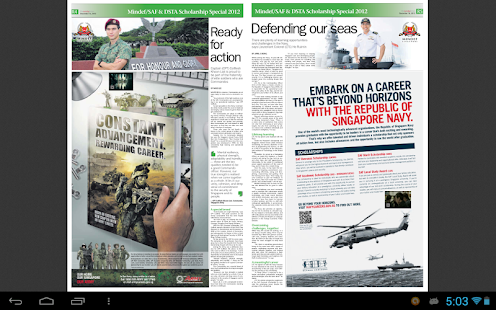 Mindef/ SAF & DSTA Scholarship - screenshot thumbnail