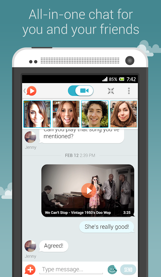 OkHello: Free Group Video Chat - screenshot