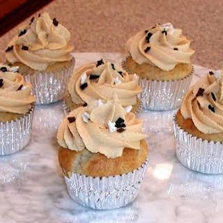 Peanut Butter & Banana Cupcakes.