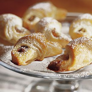 Rugelach with Apricot and Pistachio Filling.