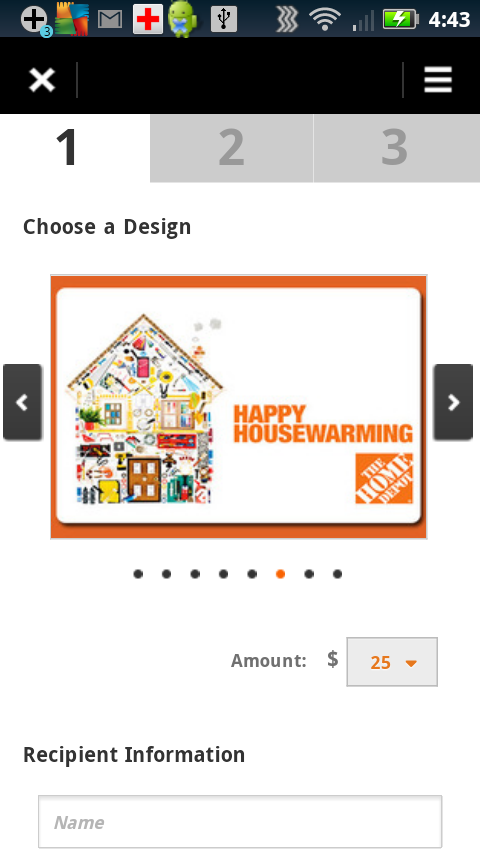 The Home Depot - screenshot
