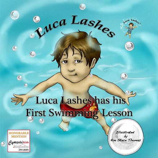 Luca has His 1st Swim Lesson