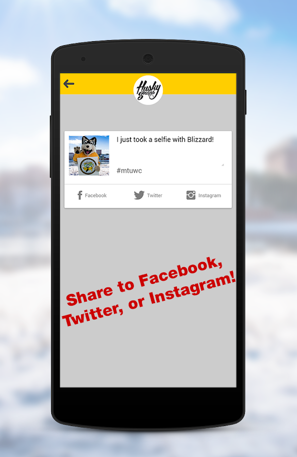 HuskySnaps by Michigan Tech- screenshot