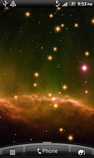 Star Sparkles Live Wallpaper