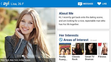 Screenshot of Dating App for Adults - AYI