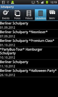 Schulparty- screenshot thumbnail