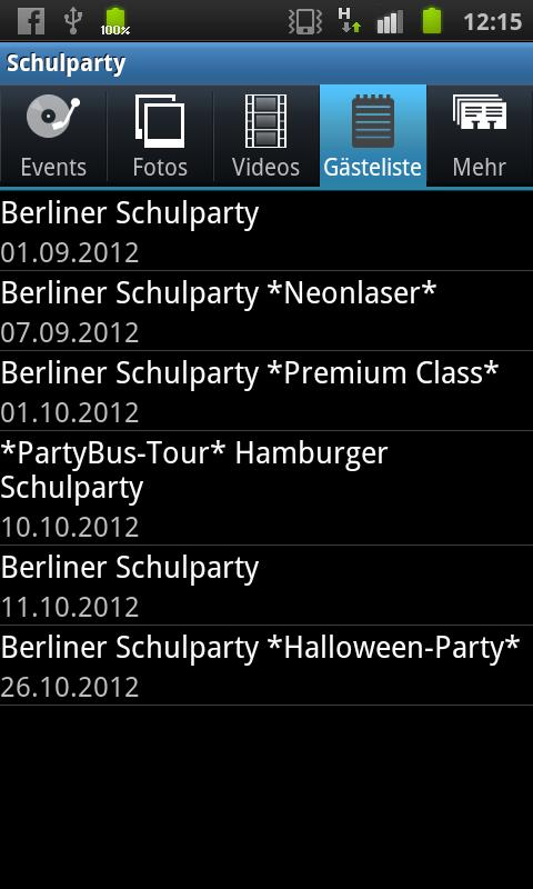 Schulparty- screenshot