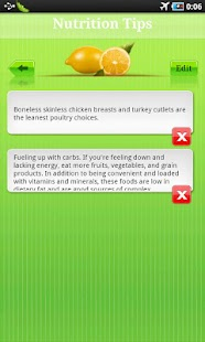 Nutrition Tip- screenshot thumbnail