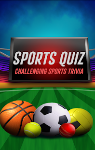 Sports Quiz-Challenging Trivia- screenshot thumbnail