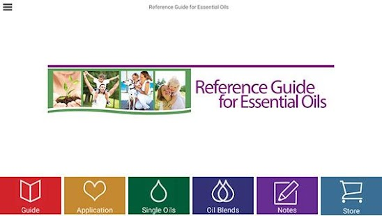 Ref. Guide for Essential Oils - screenshot thumbnail