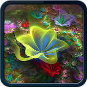 4D Flowers Wallpaper