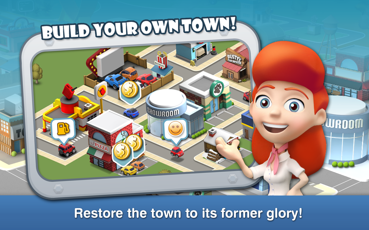 Car Town Streets - screenshot
