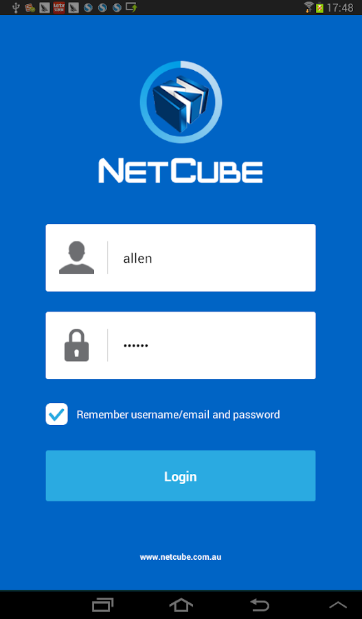 NetCube SmartRouter - screenshot