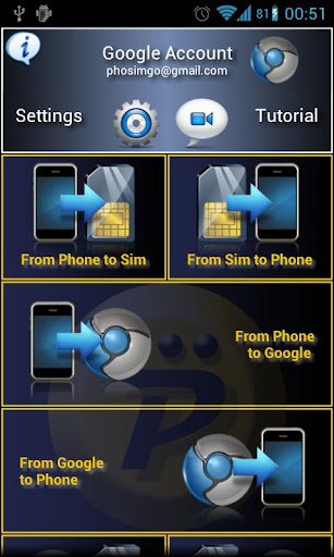 Phosimgo copy contacts Pro