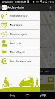Screenshot of RoulezMalin - Covoiturage