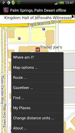 【免費旅遊App】Palm Springs offline map-APP點子