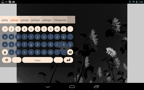 Galego Keyboard Plugin - screenshot thumbnail