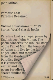 a book review of john miltons epic poem paradise lost Free kindle book and epub digitized and proofread by project gutenberg   paradise lost by john milton no cover available download bibrec.