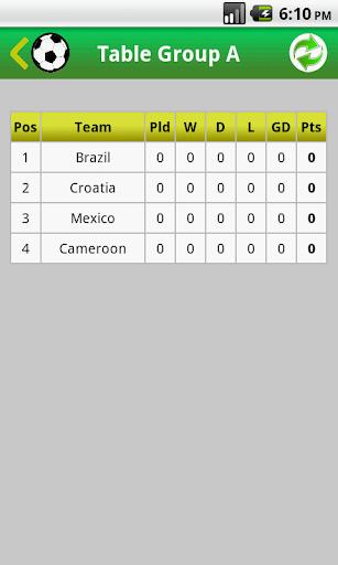 サッカーワールドカップ2014 PRO