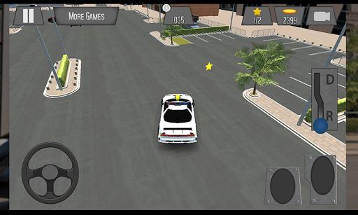3D Police Car Parking 2