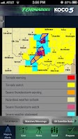 Screenshot of Tornadoes KOCO 5