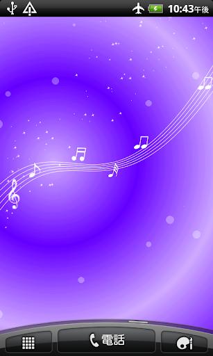 音符の泉 ライブ壁紙 無料版FREEフリー