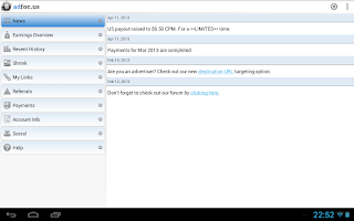 Screenshot of adfoc.us