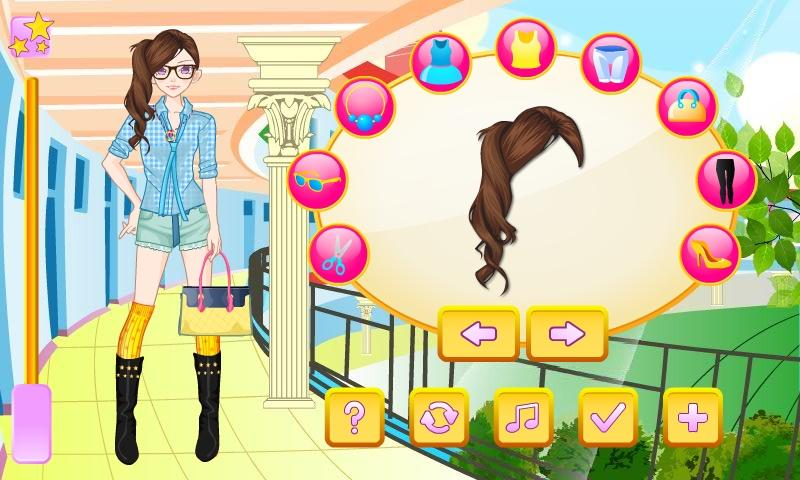 Nerdy Girl Dress Up - screenshot