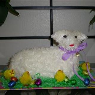 Easter Lamb Cake I