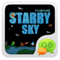 GOSMS Pro starry sky Theme