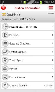 Delhi Metro Rail - screenshot thumbnail