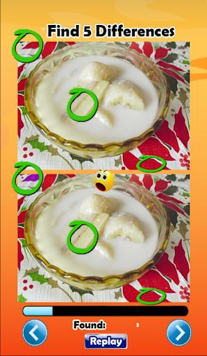 ขนมไทย Dessert Find Difference