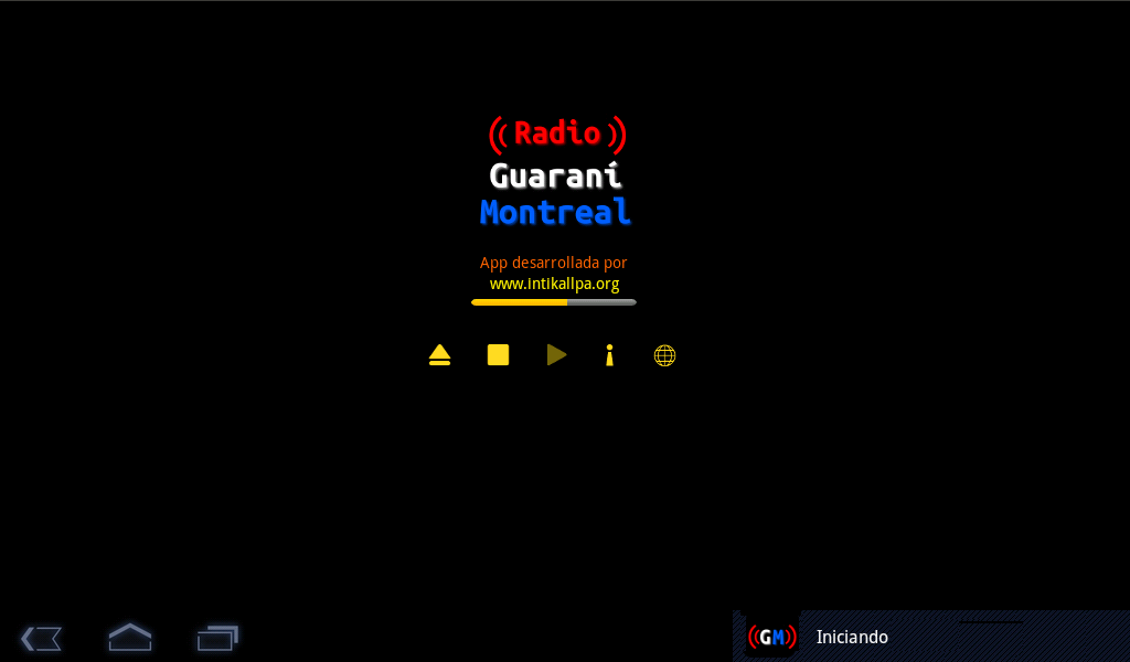 Radio Guarani Montreal- screenshot