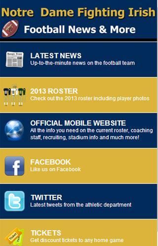 Notre Dame Football News