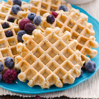 Clean Eating Waffles.