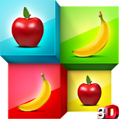 Fruits Match: Cards Puzzle
