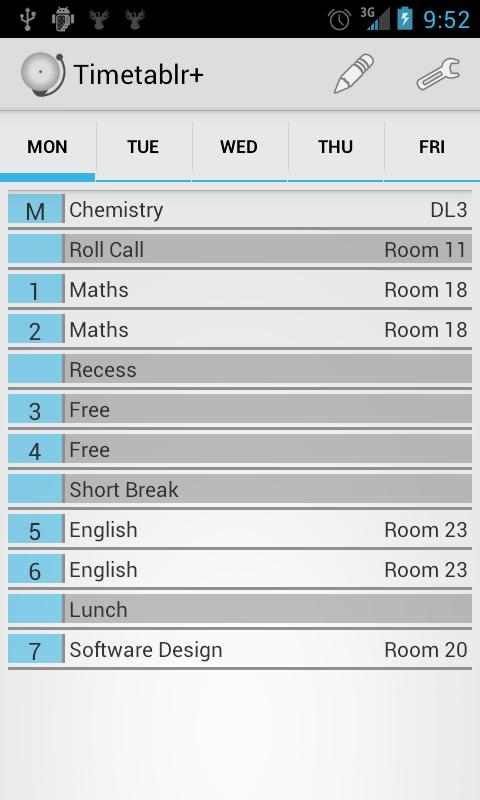 Timetable+ - School Scheduler - screenshot