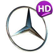 3D MERCEDES-BENZ Logo HD LWP