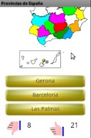 Screenshot of Learn the Provinces of Spain