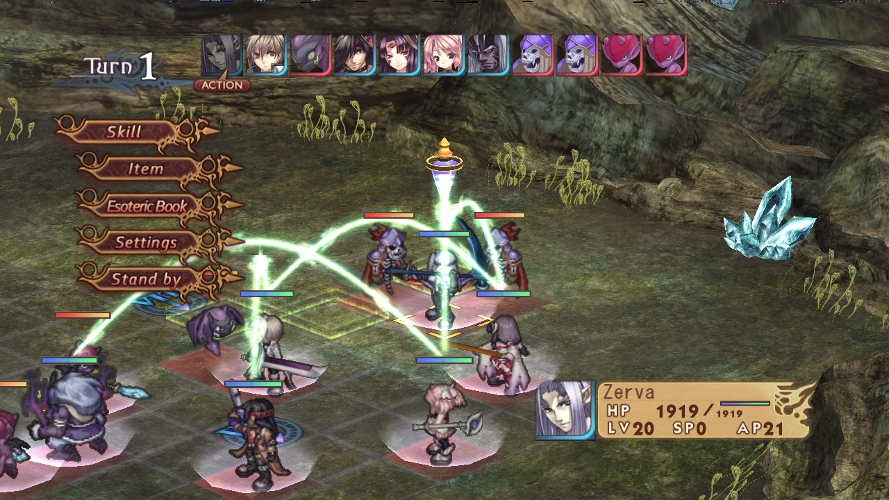 RPG Record of Agarest War - screenshot