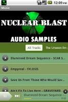 Screenshot of NuclearBlast