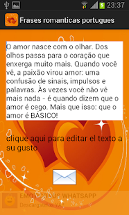 Frases romanticas portugues - screenshot thumbnail